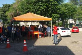Café e protesto na Transpetro 07/04/2017