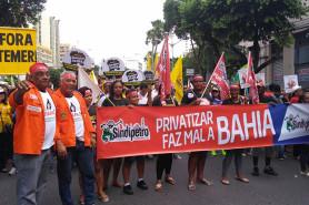 Passeata no Campo Grande contra a Reforma - 15/03