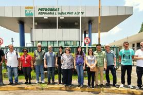 Visita professores/pesquisadores RLAM (23/11)