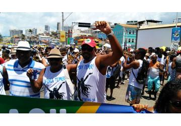 Sindipetro leva para a festa de Iemanjá o protesto contra a privatização do Sistema Petrobrás