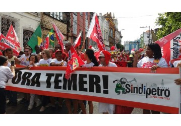 Sindipetro Bahia no 2 de Julho