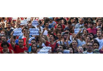 """Movimentos sociais organizam início do """"Fora Temer"""" nas ruas em 2017"""