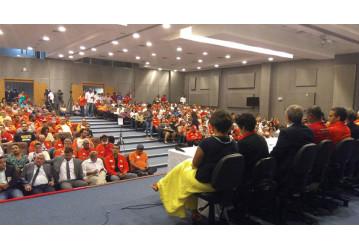 Audiência Pública sobre a Petrobrás lota auditório na ALBA - confira matéria da TVT