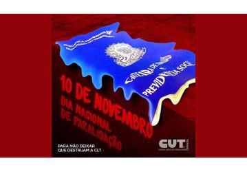 Centrais preparam protesto em 10 de novembro contra retirada de direitos
