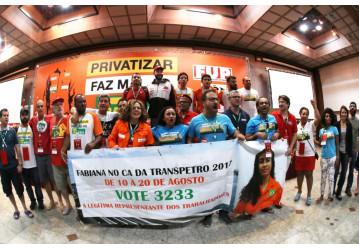 XVII CONFUP – Delegados aprovam apoio à candidata ao CA da Transpetro, Fabiana