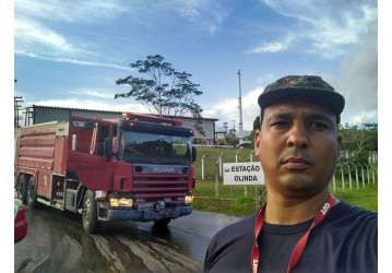Estação Olinda - diretores do Sindipetro vão ao local e cobram apuração do acidente