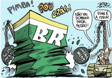 Privatizar a Petrobrás faz mal ao Brasil!