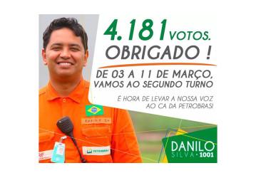 Danilo Silva vence 1º turno da eleição para o CA da Petrobrás