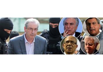 Cunha implode Temer e aliados com megadelação