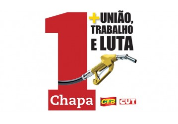 Sindipetro Bahia apoia a Chapa 1 Mais União, Trabalho e Luta, nas eleições do Sinposba