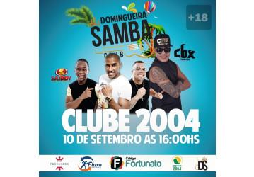 Domingueira Samba no CLUBE 2004