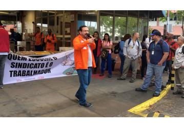 FUP e sindicatos protestam contra práticas antissindicais da Perbrás