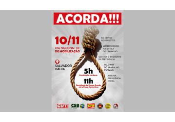 Dia de Mobilização Nacional contra a reforma trabalhista