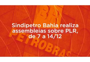 Sindipetro realiza assembleias sobre PLR, de 7 a 14/12