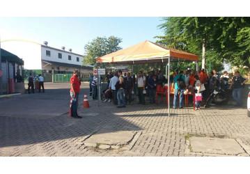 Sindipetro faz ato de repúdio contra corte do café da manhã na Transpetro