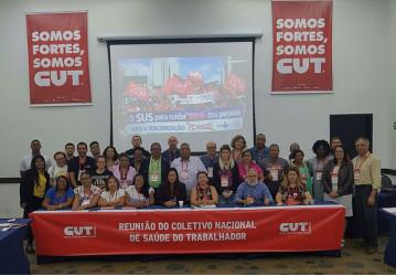 Sindipetro participa de reunião do Coletivo Nacional de Saúde do Trabalhador