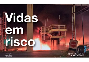 Petroleiros fazem nova mobilização dia 10 em defesa da vida