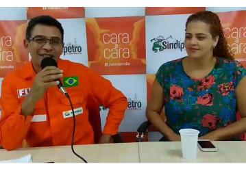 Cara a Cara – Programa ao vivo do Sindipetro Bahia alcançou mais de 16 mil internautas na segunda-feira, 08/01