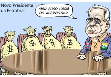 'Presidente da Petrobrás assume para beneficiar concorrentes'