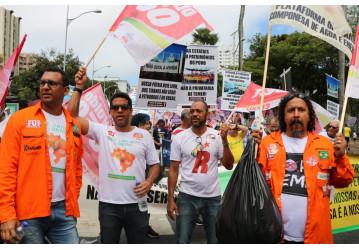 Petroleiros defendem soberania nacional no Grito dos Excluídos