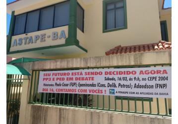 PP3 e PED em debate, no próximo sábado (16), em Jardim Armação