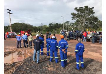 Sindipetro realiza ato em protesto à morte de trabalhador na PetroReconcavo – Não há lucro que pague uma vida