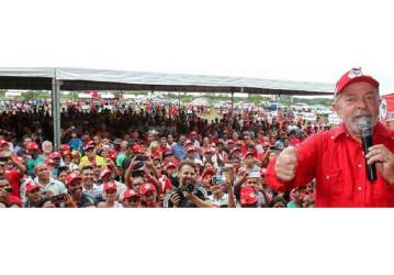 Lula: deveriam perseguir os que estão querendo vender a Petrobrás