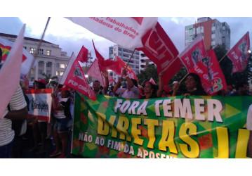 CONVOCATÓRIA URGENTE – ato de solidariedade em defesa do ex-presidente LULA