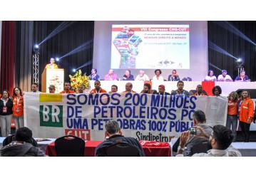 Nenhum direito a menos: petroleiros participam de Congresso da CNQ/CUT