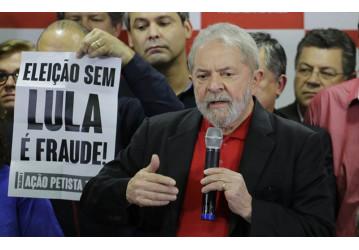 Lula: 'Quero reivindicar a indicação para disputar a eleição de 2018'