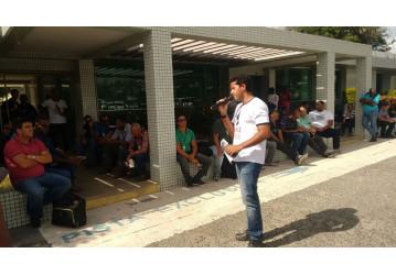 Sindipetro paralisa FAFEN e UTE-RA no Dia Nacional de Luta contra a Privatização
