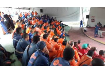 Sindipetro Bahia promove palestras e atividades na X SIPAT da RLAM