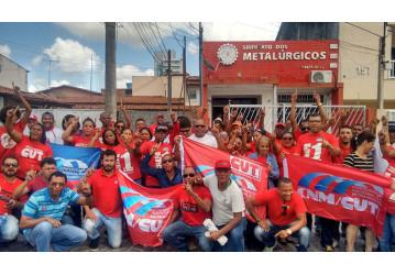 Metalúrgicos de Feira de Santana - Sindipetro parabeniza a Chapa 1, da CUT/CNM, pela vitória