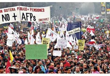 No Chile, o modelo de previdência privada falhou, diz trabalhador chileno