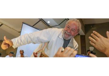 CUT-Vox: Lula leva no 1º turno, com 45% dos votos