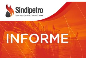 INFORME - Funcionamento do Sindipetro na quinta, 18/04