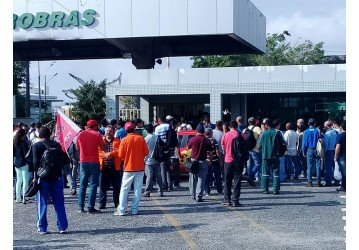 Mobilização no Aeroporto e na FAFEN contra as reformas trabalhista e previdenciária
