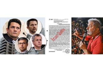 Tribunal divulga documento que prova inocência de Lula