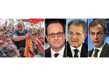 Líderes europeus pedem Lula livre e candidato