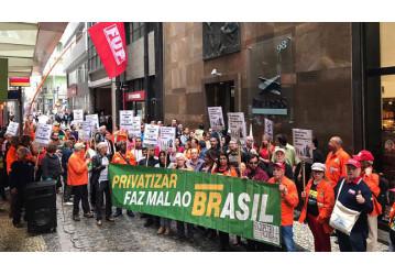 Participantes do PP-1 ocupam Petros e exigem diálogo sobre déficit