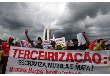 Trabalhadores desaprovam terceirização da atividade-fim, mostra CUT/Vox Populi
