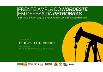 Sindicatos do Nordeste e do ES articulam Frente Ampla em Defesa da Petrobrás
