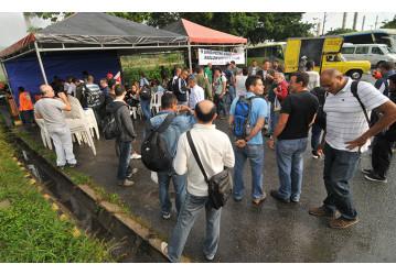 Sindipetro paralisa Fafen e debate conjuntura política