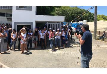 Sindipetro Bahia solidário aos grevistas de telemarketing