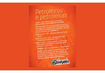 Exigimos a saída imediata de Pedro Parente e anulação de todos os atos da sua gestão
