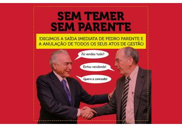 Rumo ao 'Ocupa Brasília', Petroleiros exigem que golpistas deixem a Petrobrás