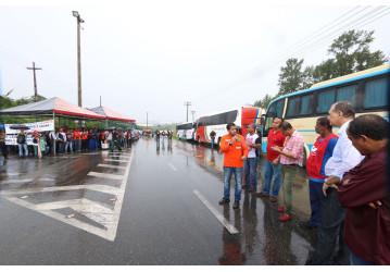 """RLAM - Sindipetro faz """"esquenta"""" para greve geral do dia 30"""