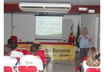 II Curso sobre o benzeno encerrado com capacitação e entrega de certificados; confira video
