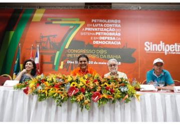 7º congresso - Palestrantes alertam para perseguição política e partidária