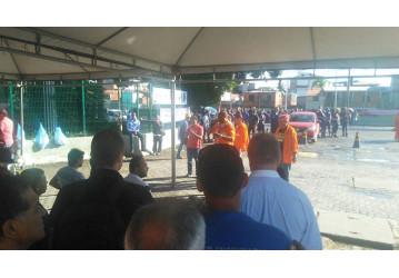 Com medo da mobilização dos trabalhadores e Sindipetro, gerente executivo da Transpetro e comitiva desistem de visitar unidades na Bahia